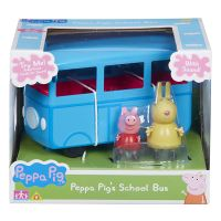 PEPPA PIG - AUTOBUS ESCOLAR + 2 FIGURAS
