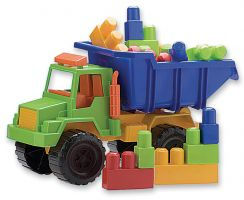 Camión mediano con Blockes