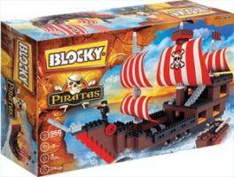 Blocky - Barco Pirata 560 Piezas