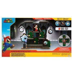 Figura Nintendo Super Mario Bros - Playset Mansión Boo Deluxe