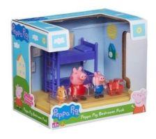PEPPA PIG - DORMITORIO CON DOS FIGURAS