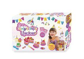 Torta de Cumpleaños de Unicornio Grande