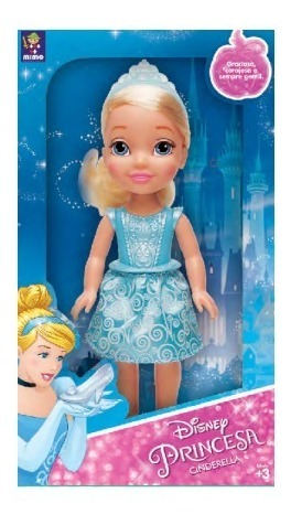 Disney Princesas - Muñeca Cenicienta 30CM