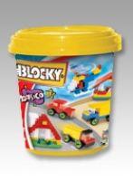 Blocky - Balde 3 200 Piezas