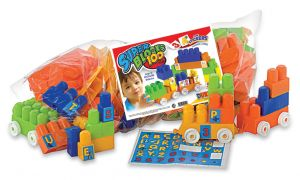 Bolso Super Blocks 100 piezas.