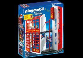 Playmobil - Estación de Bomberos con Alarma