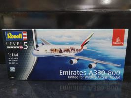 Emirates A380-800 United for Wildlife Aircraft Model