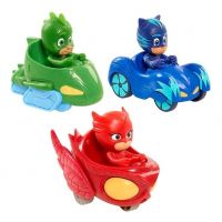 Heroes en Pijamas Pj Masks - Vehículo con Figura Incluída