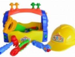Caja de herramientas c/casco