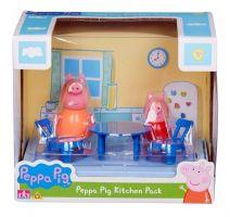 PEPPA PIG - COCINA PACK CON DOS FIGURAS