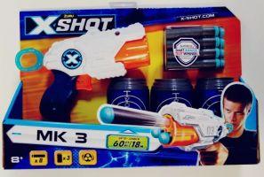 X-Shot Pistola Lanza Dardos X Shot Mk 3