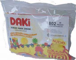 DAKI - ART. 802 - 46 PIEZAS