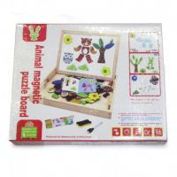 ANIMAL MAGNETIC PUZZLE BOARD