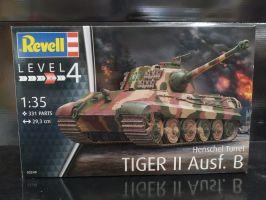 Henschel Turret Tiger II Ausf. B