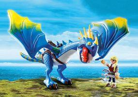 Playmobil - Astrid y Tormenta Como Entrenar a tu Dragón