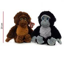 Mono de Peluche con Ojos de Vidrio 23cm