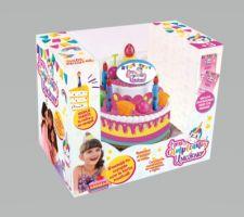 Torta de Cumpleaños de Unicornio Chica