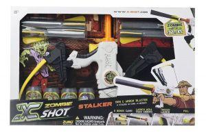Pistola X-shot Stalker Arco Zombie Alcance 10mts